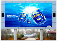 3D HD TV Shopping Mall Outdoor Digital LED Billboards Ads , Electronic Billboard Signs